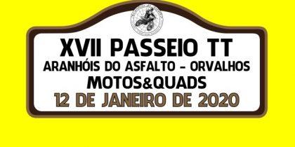 XVII Passeio TT – Aranhóis do Asfalto