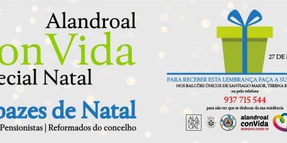 Alandroal ConVida – Especial Natal – Cabazes de Natal – Séniores | Pensionistas | Reformados do Concelho